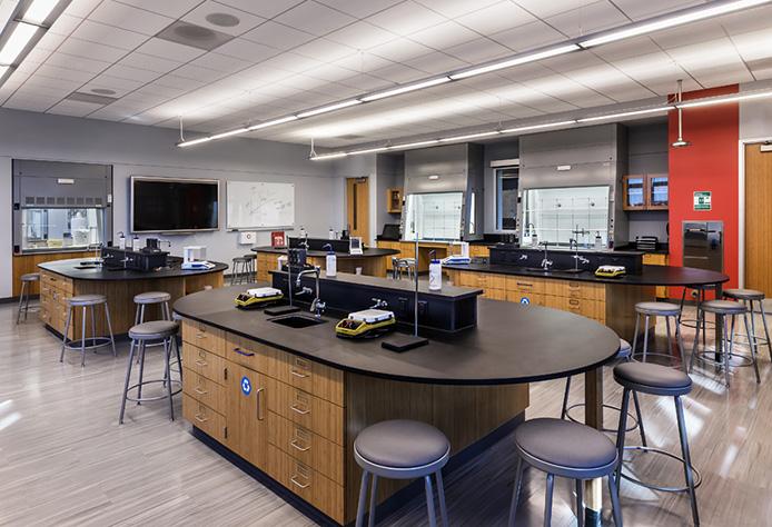 Modern Chemistry Classroom ~ Modern first class chemistry laboratories north park
