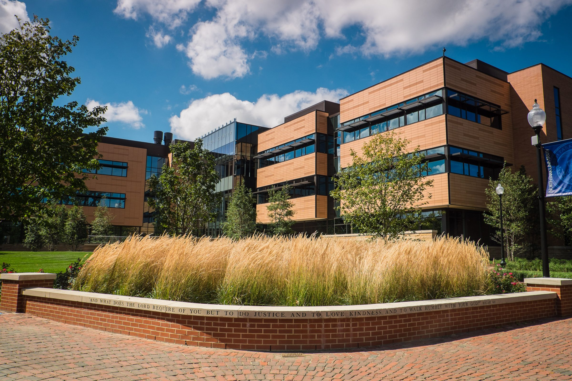 The Nancy and G. Timothy Johnson Center for Science and Community Life featured image background